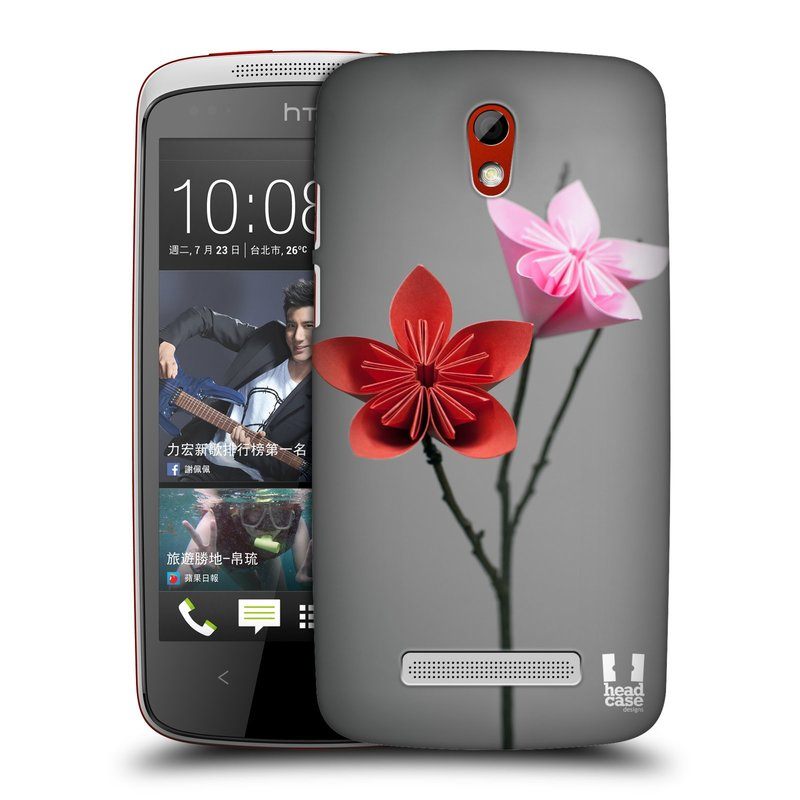 Plastové pouzdro na mobil HTC Desire 500 HEAD CASE KUSUDAMA (Kryt či obal na mobilní telefon HTC Desire 500)