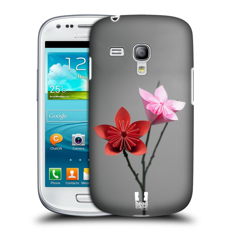Plastové pouzdro na mobil Samsung Galaxy S III Mini HEAD CASE KUSUDAMA (Kryt či obal na mobilní telefon Samsung Galaxy S III Mini GT-i8190)