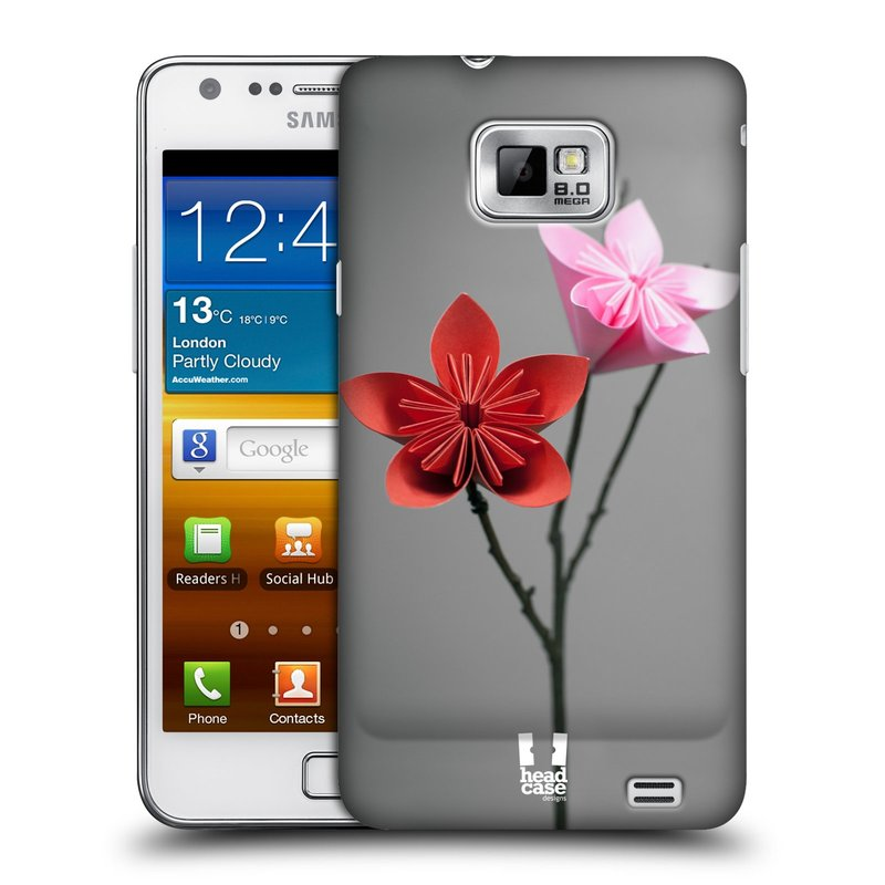 Plastové pouzdro na mobil Samsung Galaxy S II HEAD CASE KUSUDAMA (Kryt či obal na mobilní telefon Samsung Galaxy S II GT-i9100)