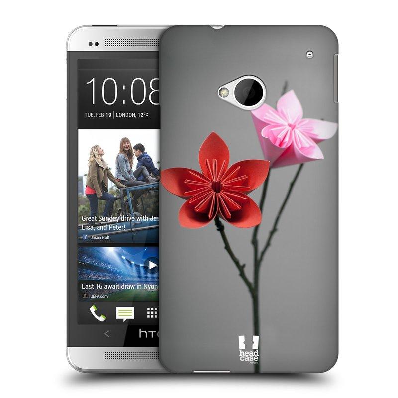 Plastové pouzdro na mobil HTC ONE M7 HEAD CASE KUSUDAMA (Kryt či obal na mobilní telefon HTC ONE M7)