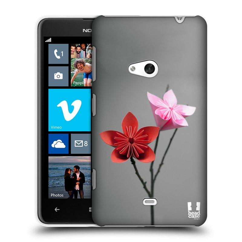 Plastové pouzdro na mobil Nokia Lumia 625 HEAD CASE KUSUDAMA (Kryt či obal na mobilní telefon Nokia Lumia 625)