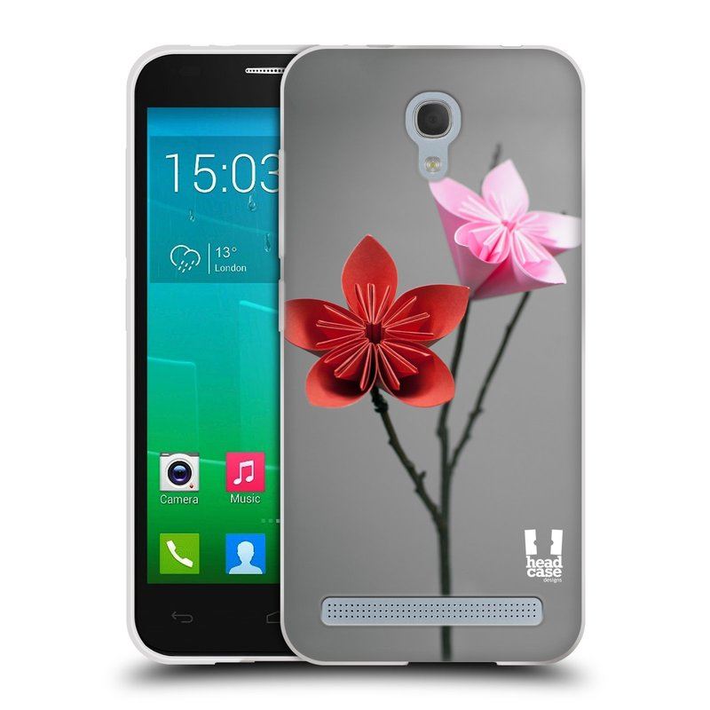Silikonové pouzdro na mobil Alcatel One Touch Idol 2 Mini S 6036Y HEAD CASE KUSUDAMA (Silikonový kryt či obal na mobilní telefon Alcatel Idol 2 Mini S OT-6036Y)