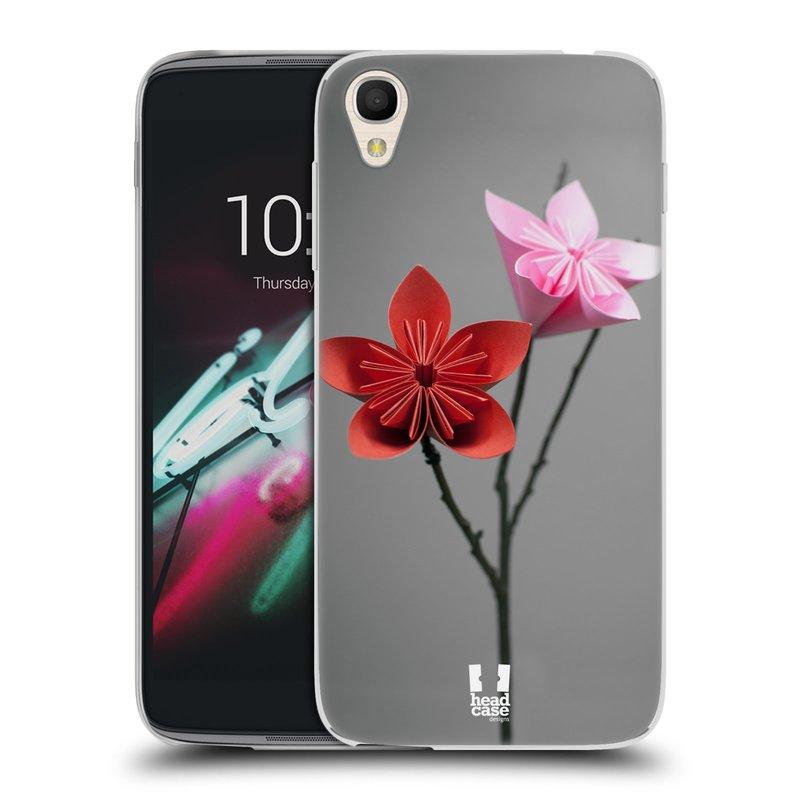 "Silikonové pouzdro na mobil Alcatel One Touch 6039Y Idol 3 HEAD CASE KUSUDAMA (Silikonový kryt či obal na mobilní telefon Alcatel One Touch Idol 3 OT-6039Y s 4,7"" displejem)"