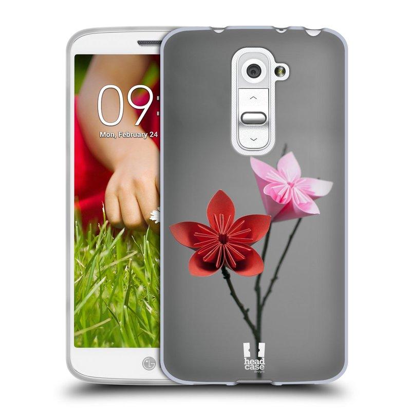 Silikonové pouzdro na mobil LG G2 Mini HEAD CASE KUSUDAMA (Silikonový kryt či obal na mobilní telefon LG G2 Mini D620)