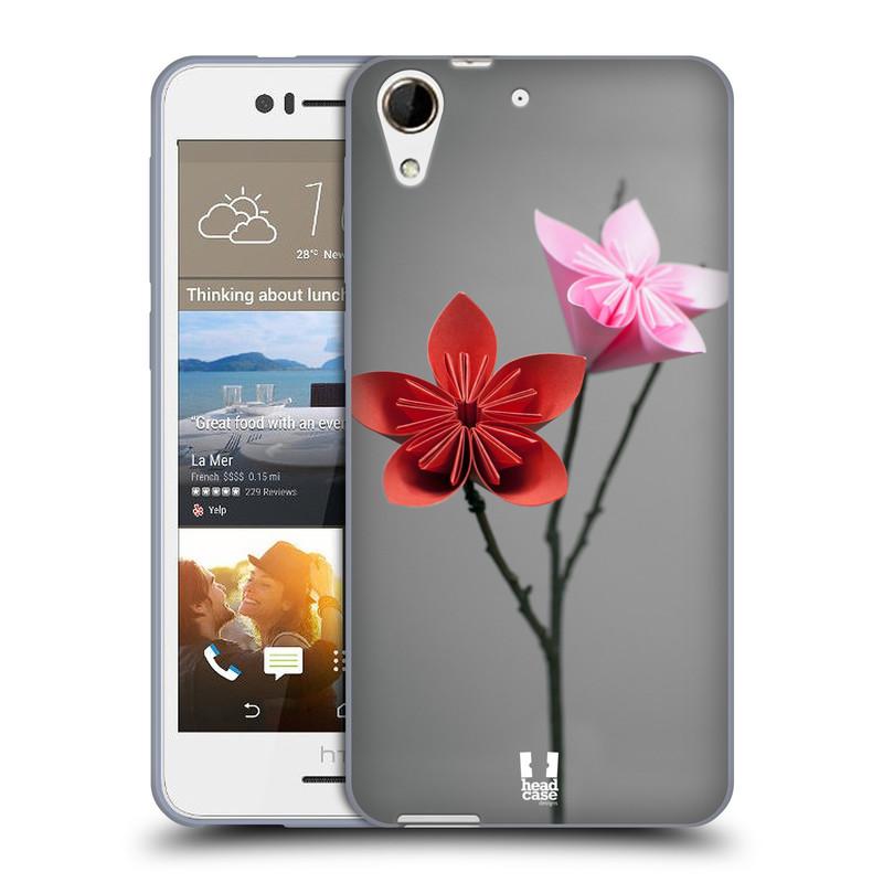 Silikonové pouzdro na mobil HTC Desire 728G Dual SIM HEAD CASE KUSUDAMA (Silikonový kryt či obal na mobilní telefon HTC Desire 728 G Dual SIM)