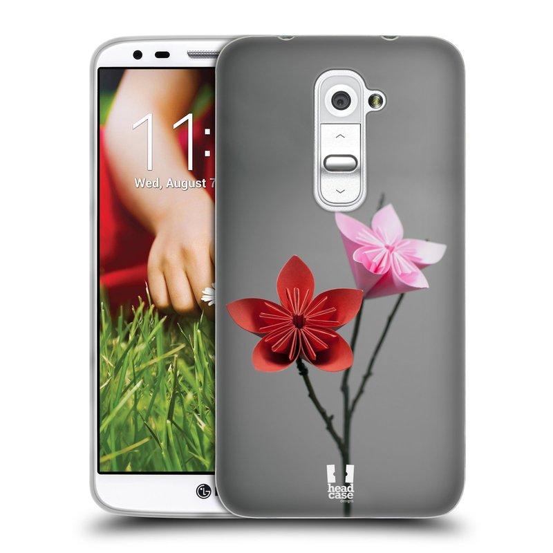 Silikonové pouzdro na mobil LG G2 HEAD CASE KUSUDAMA (Silikonový kryt či obal na mobilní telefon LG G2 D802)