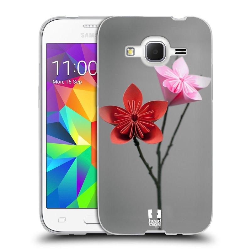 Silikonové pouzdro na mobil Samsung Galaxy Core Prime LTE HEAD CASE KUSUDAMA (Silikonový kryt či obal na mobilní telefon Samsung Galaxy Core Prime LTE SM-G360)