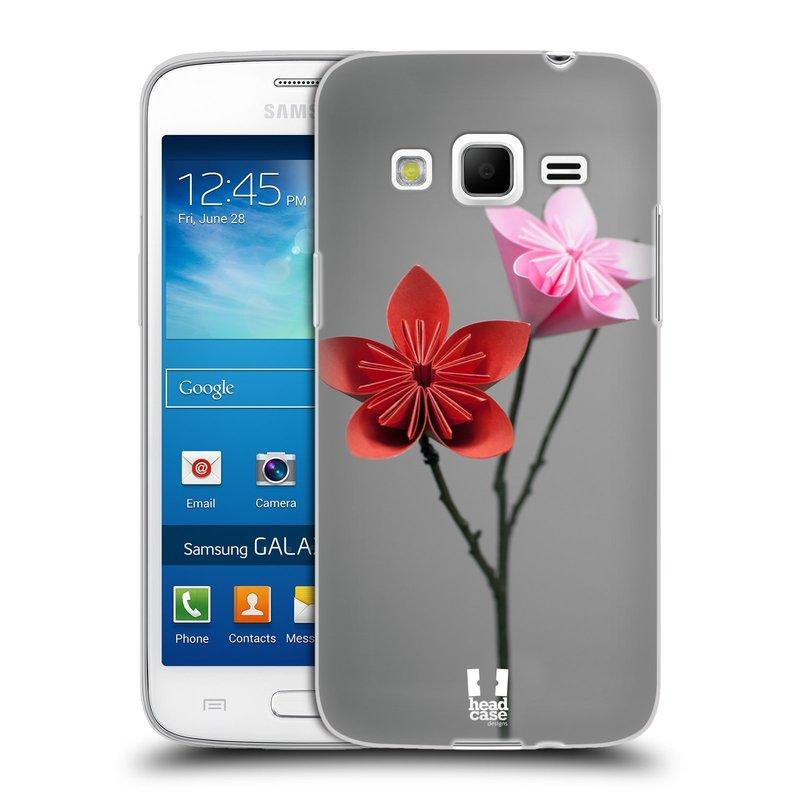 Silikonové pouzdro na mobil Samsung Galaxy Express 2 HEAD CASE KUSUDAMA (Silikonový kryt či obal na mobilní telefon Samsung Galaxy Express 2 SM-G3815)