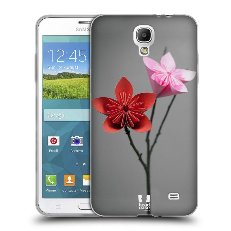 Silikonové pouzdro na mobil Samsung Galaxy Grand Mega 2 HEAD CASE KUSUDAMA (Silikonový kryt či obal na mobilní telefon Samsung Galaxy Grand Mega 2 SM-G750)