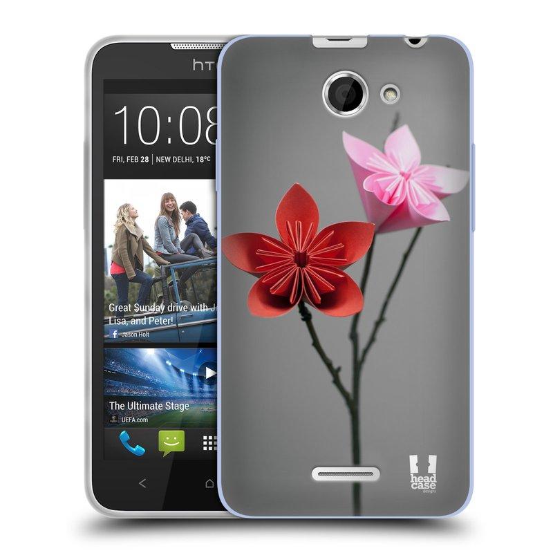 Silikonové pouzdro na mobil HTC Desire 516 HEAD CASE KUSUDAMA (Silikonový kryt či obal na mobilní telefon HTC Desire 516 Dual SIM)