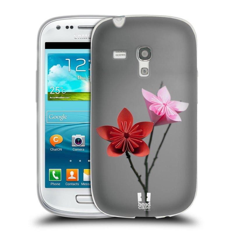 Silikonové pouzdro na mobil Samsung Galaxy S3 Mini VE HEAD CASE KUSUDAMA (Silikonový kryt či obal na mobilní telefon Samsung Galaxy S3 Mini VE GT-i8200)