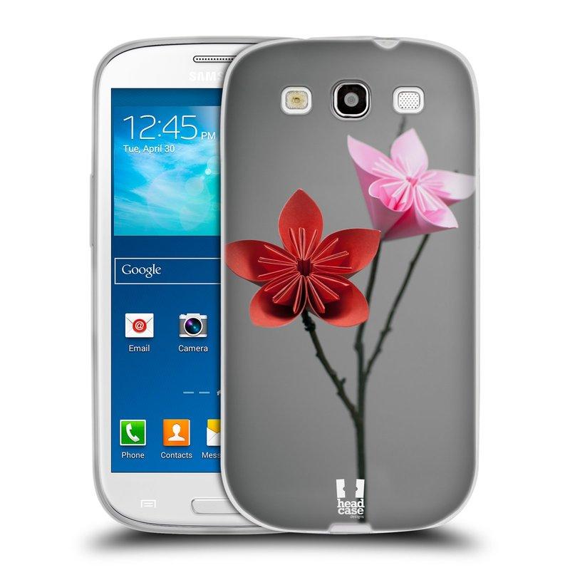 Silikonové pouzdro na mobil Samsung Galaxy S3 Neo HEAD CASE KUSUDAMA (Silikonový kryt či obal na mobilní telefon Samsung Galaxy S3 Neo GT-i9301i)