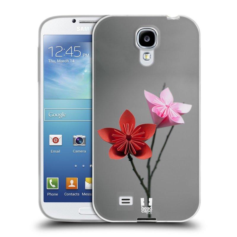 Silikonové pouzdro na mobil Samsung Galaxy S4 HEAD CASE KUSUDAMA (Silikonový kryt či obal na mobilní telefon Samsung Galaxy S4 GT-i9505 / i9500)