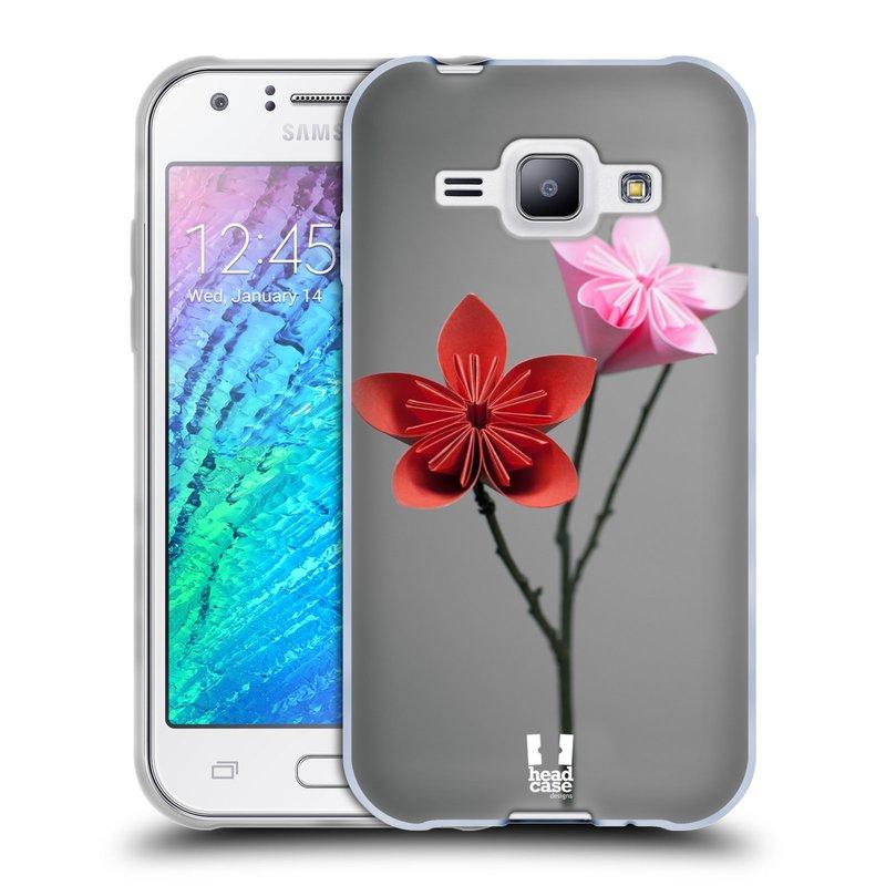 Silikonové pouzdro na mobil Samsung Galaxy J1 HEAD CASE KUSUDAMA (Silikonový kryt či obal na mobilní telefon Samsung Galaxy J1 a J1 Duos)
