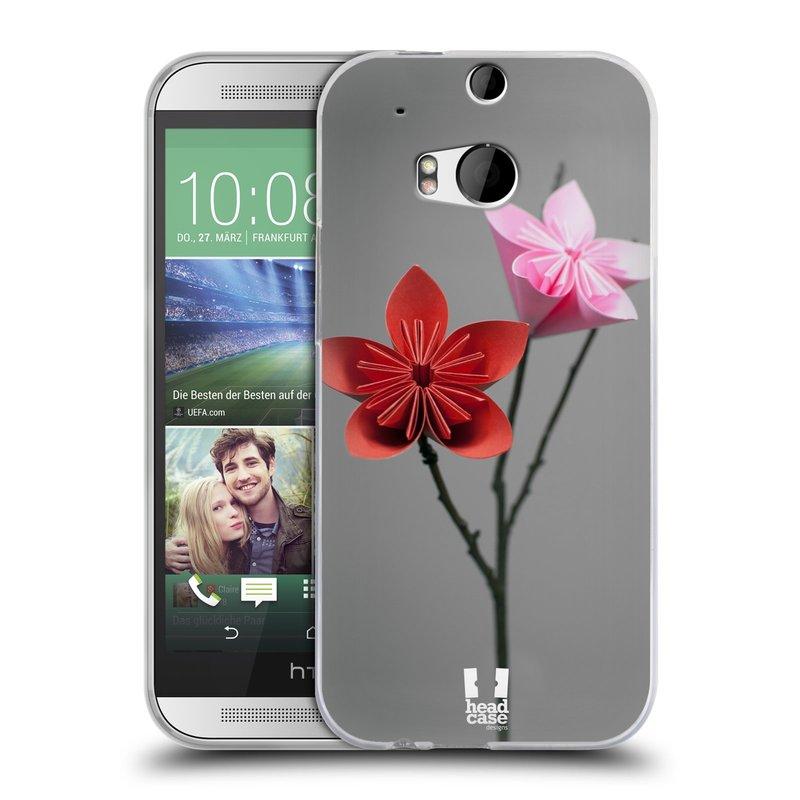 Silikonové pouzdro na mobil HTC ONE M8 HEAD CASE KUSUDAMA (Silikonový kryt či obal na mobilní telefon HTC ONE M8)
