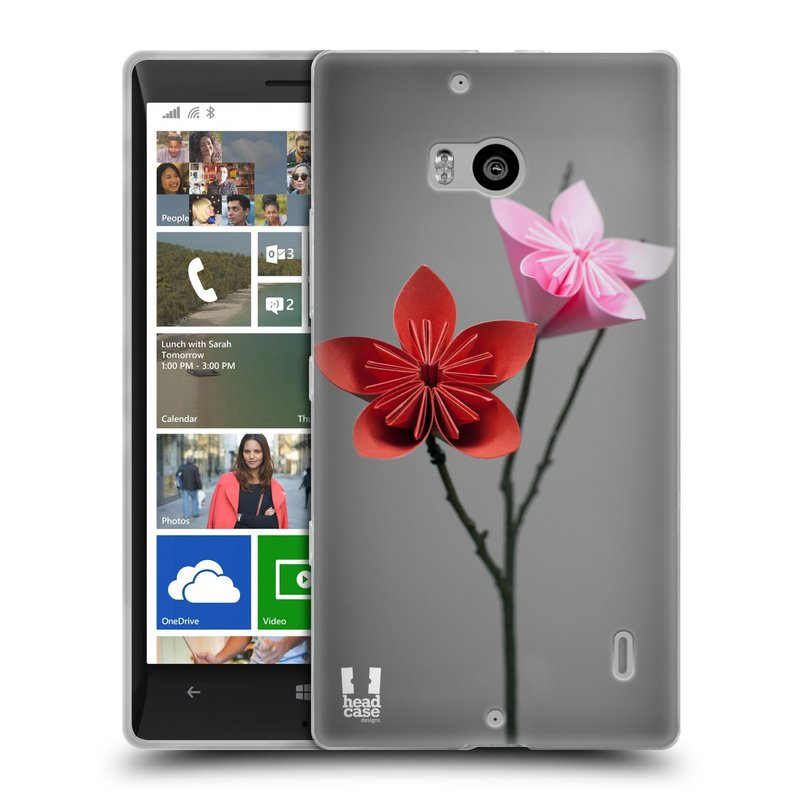 Silikonové pouzdro na mobil Nokia Lumia 930 HEAD CASE KUSUDAMA (Silikonový kryt či obal na mobilní telefon Nokia Lumia 930)
