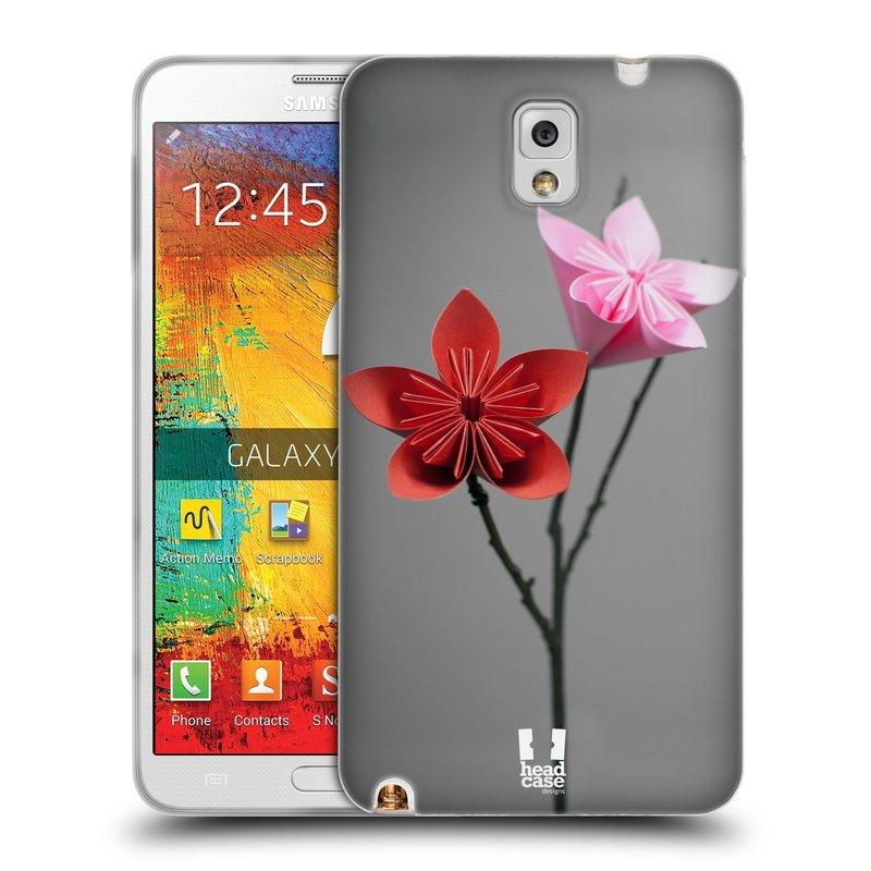 Silikonové pouzdro na mobil Samsung Galaxy Note 3 HEAD CASE KUSUDAMA (Silikonový kryt či obal na mobilní telefon Samsung Galaxy Note 3 SM-N9005)