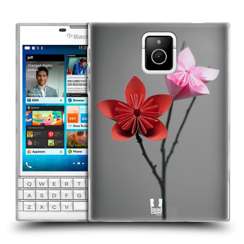Silikonové pouzdro na mobil Blackberry PASSPORT HEAD CASE KUSUDAMA (Silikonový kryt či obal na mobilní telefon Blackberry PASSPORT)