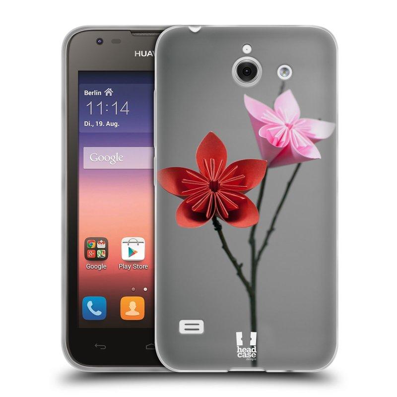 Silikonové pouzdro na mobil Huawei Ascend Y550 HEAD CASE KUSUDAMA (Silikonový kryt či obal na mobilní telefon Huawei Ascend Y550)