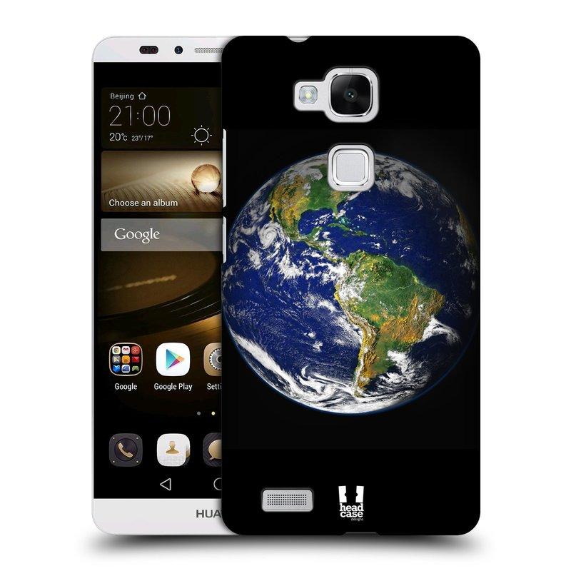 Plastové pouzdro na mobil Huawei Ascend Mate 7 HEAD CASE ZEMĚ (Kryt či obal na mobilní telefon Huawei Ascend Mate7)