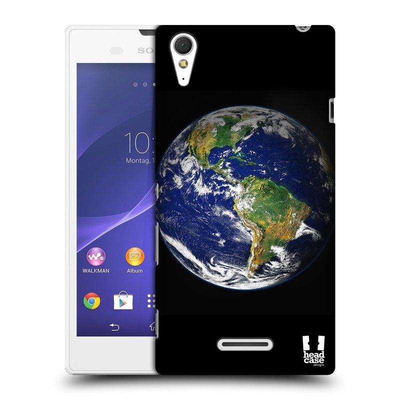 Plastové pouzdro na mobil Sony Xperia T3 D5103 HEAD CASE ZEMĚ (Kryt či obal na mobilní telefon Sony Xperia T3 )