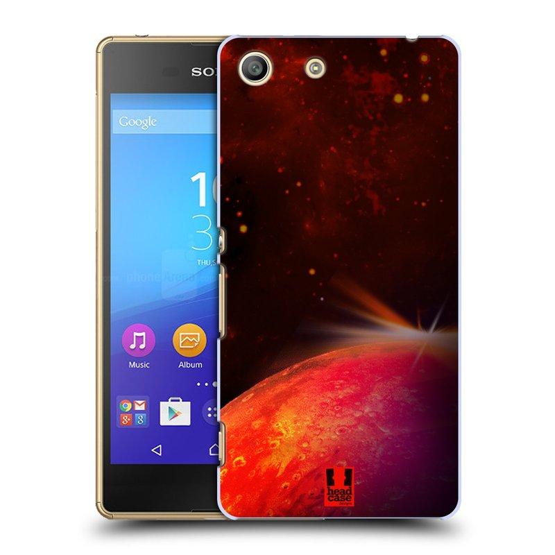 Plastové pouzdro na mobil Sony Xperia M5 HEAD CASE MARS (Kryt či obal na mobilní telefon Sony Xperia M5 Aqua)