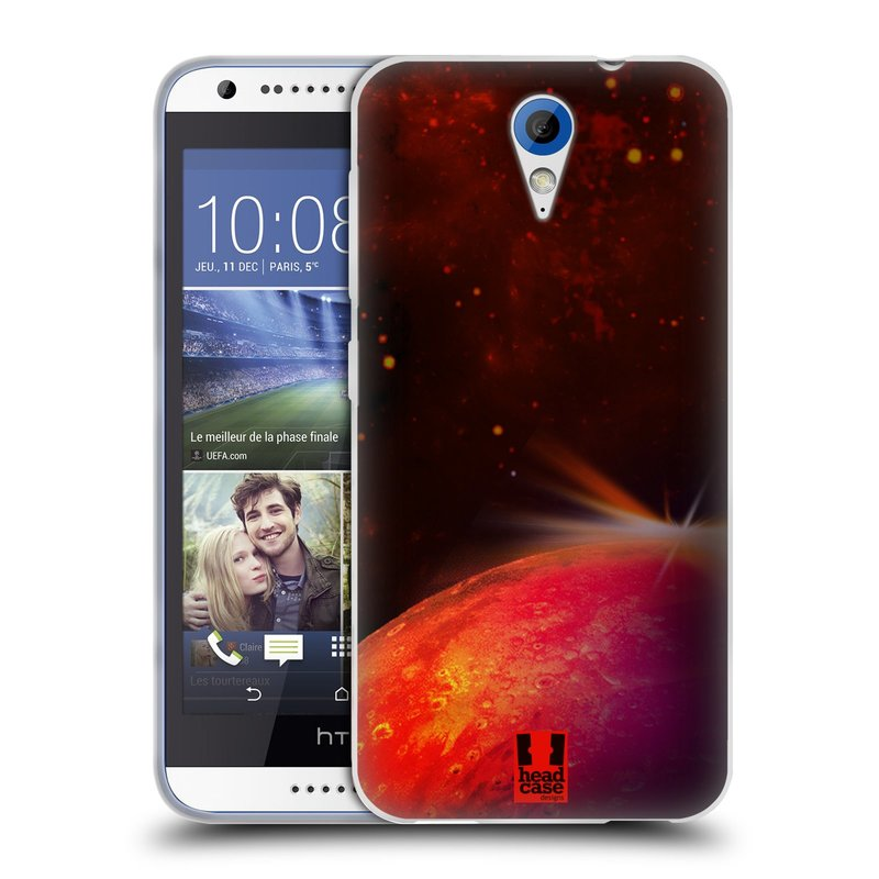 Silikonové pouzdro na mobil HTC Desire 620 HEAD CASE MARS (Silikonový kryt či obal na mobilní telefon HTC Desire 620)