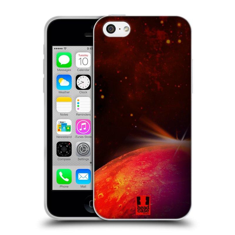 Silikonové pouzdro na mobil Apple iPhone 5C HEAD CASE MARS (Silikonový kryt či obal na mobilní telefon Apple iPhone 5C)