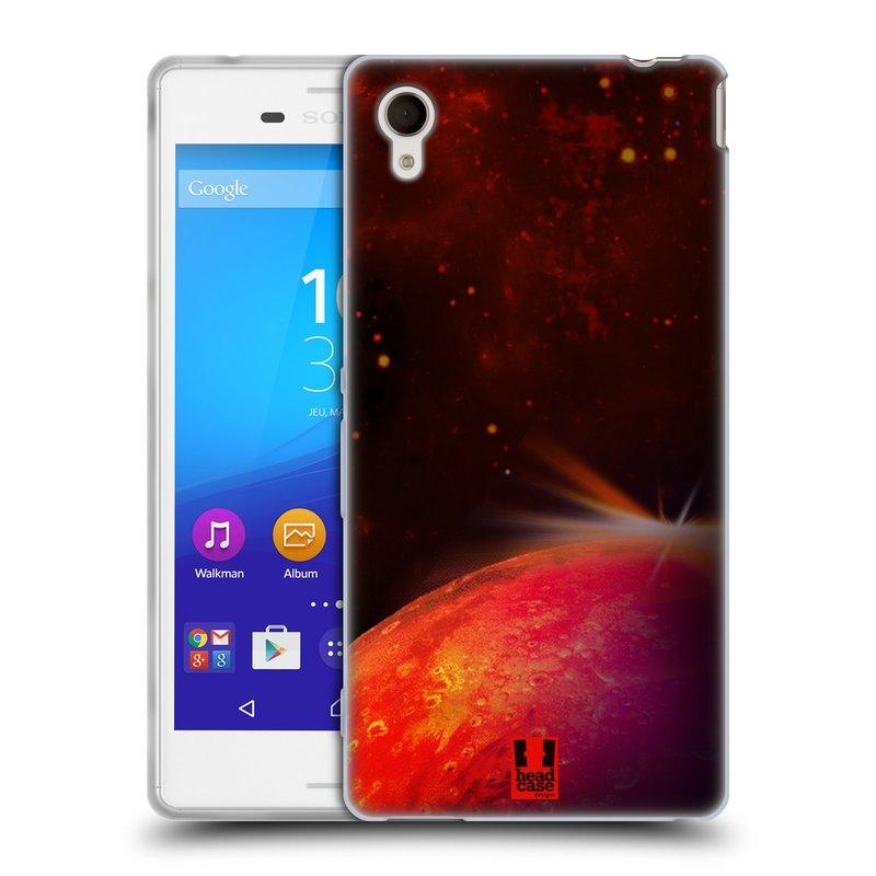 Silikonové pouzdro na mobil Sony Xperia M4 Aqua E2303 HEAD CASE MARS (Silikonový kryt či obal na mobilní telefon Sony Xperia M4 Aqua a M4 Aqua Dual SIM)