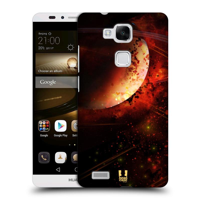 Plastové pouzdro na mobil Huawei Ascend Mate 7 HEAD CASE SATURN (Kryt či obal na mobilní telefon Huawei Ascend Mate7)