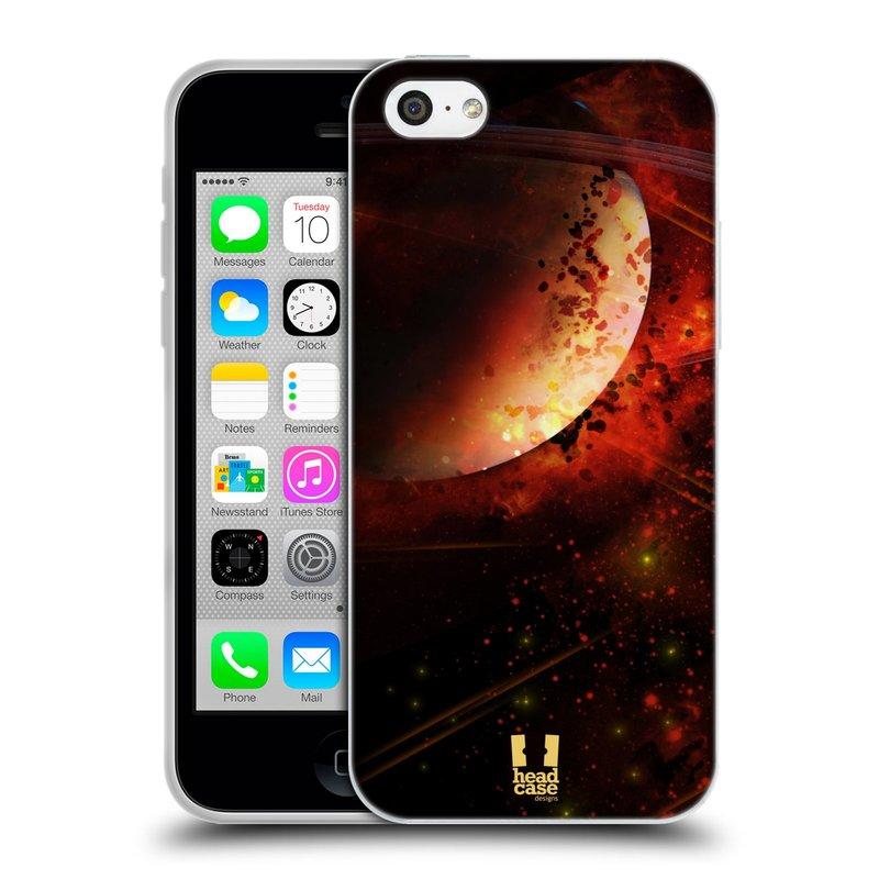 Silikonové pouzdro na mobil Apple iPhone 5C HEAD CASE SATURN (Silikonový kryt či obal na mobilní telefon Apple iPhone 5C)
