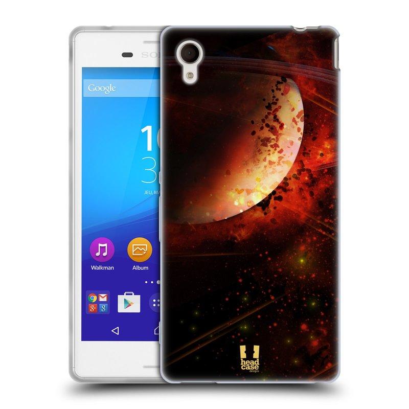 Silikonové pouzdro na mobil Sony Xperia M4 Aqua E2303 HEAD CASE SATURN (Silikonový kryt či obal na mobilní telefon Sony Xperia M4 Aqua a M4 Aqua Dual SIM)