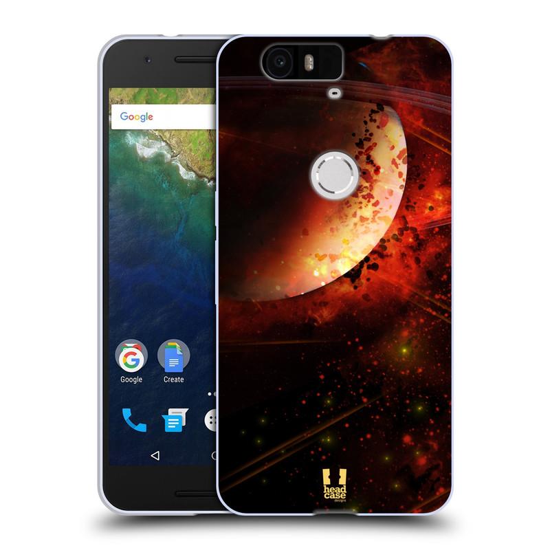 Silikonové pouzdro na mobil Huawei Nexus 6P HEAD CASE SATURN (Silikonový kryt či obal na mobilní telefon Huawei Nexus 6P)