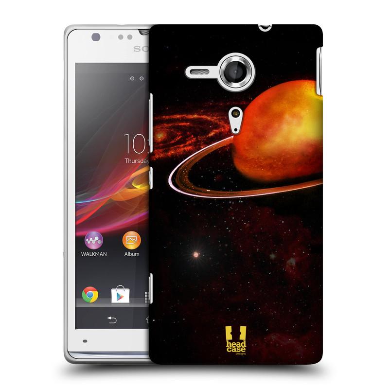 Plastové pouzdro na mobil Sony Xperia SP C5303 HEAD CASE URAN (Kryt či obal na mobilní telefon Sony Xperia SP )