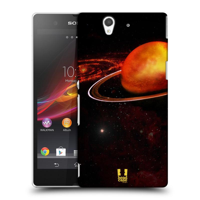 Plastové pouzdro na mobil Sony Xperia Z C6603 HEAD CASE URAN (Kryt či obal na mobilní telefon Sony Xperia Z )
