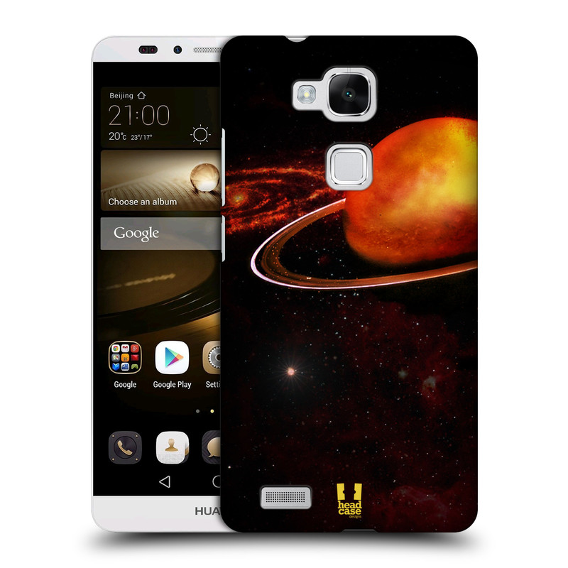 Plastové pouzdro na mobil Huawei Ascend Mate 7 HEAD CASE URAN (Kryt či obal na mobilní telefon Huawei Ascend Mate7)