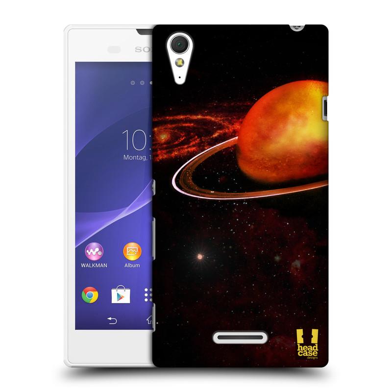 Plastové pouzdro na mobil Sony Xperia T3 D5103 HEAD CASE URAN (Kryt či obal na mobilní telefon Sony Xperia T3 )