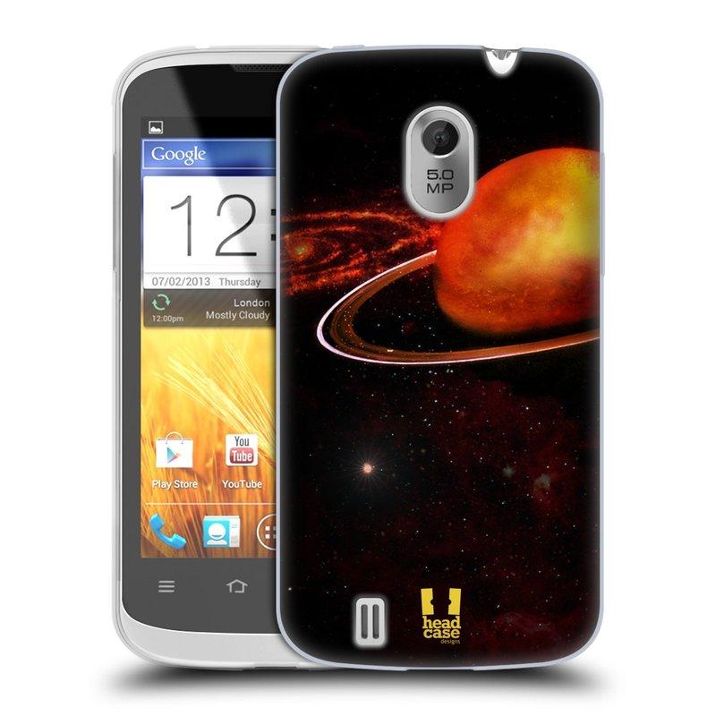 Silikonové pouzdro na mobil ZTE Blade III HEAD CASE URAN (Silikonový kryt či obal na mobilní telefon ZTE Blade 3)