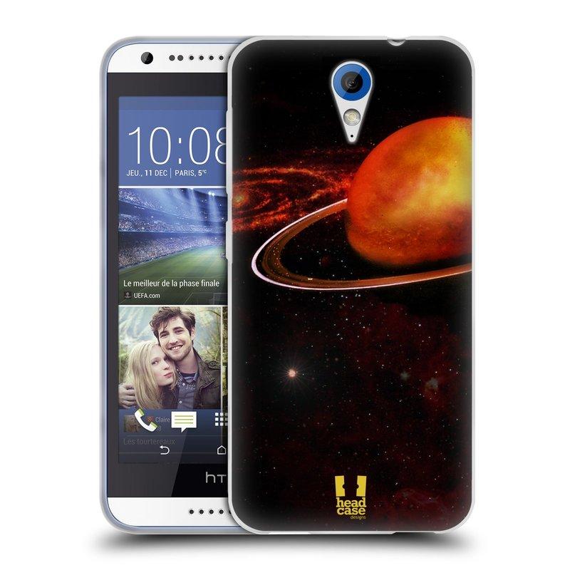 Silikonové pouzdro na mobil HTC Desire 620 HEAD CASE URAN (Silikonový kryt či obal na mobilní telefon HTC Desire 620)