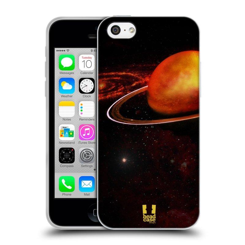 Silikonové pouzdro na mobil Apple iPhone 5C HEAD CASE URAN (Silikonový kryt či obal na mobilní telefon Apple iPhone 5C)