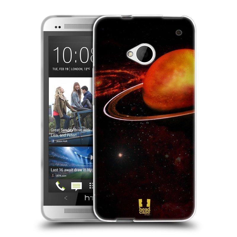Silikonové pouzdro na mobil HTC ONE M7 HEAD CASE URAN (Silikonový kryt či obal na mobilní telefon HTC ONE M7)