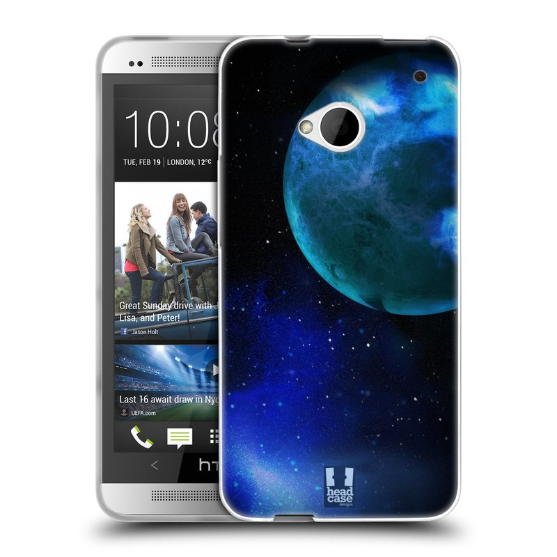 Silikonové pouzdro na mobil HTC ONE M7 HEAD CASE VENUŠE (Silikonový kryt či obal na mobilní telefon HTC ONE M7)