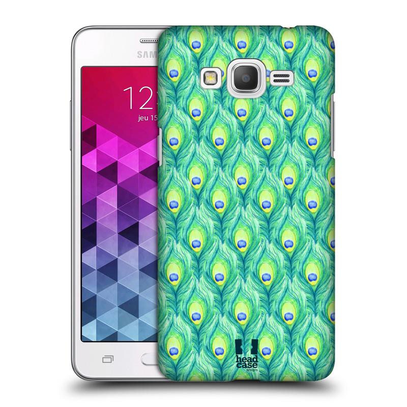 Plastové pouzdro na mobil Samsung Galaxy Grand Prime HEAD CASE PÍRKA PATTERN (Kryt či obal na mobilní telefon Samsung Galaxy Grand Prime SM-G530)