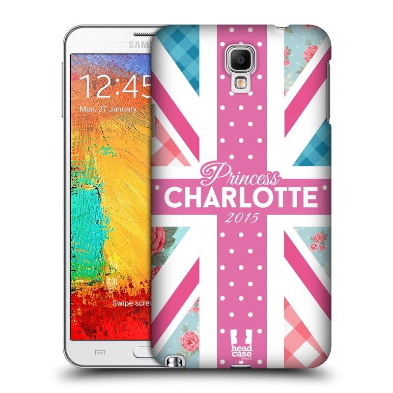 Plastové pouzdro na mobil Samsung Galaxy Note 3 Neo HEAD CASE PRINCEZNIČKA CHARLOTTE (Kryt či obal na mobilní telefon Samsung Galaxy Note 3 Neo SM-N7505)