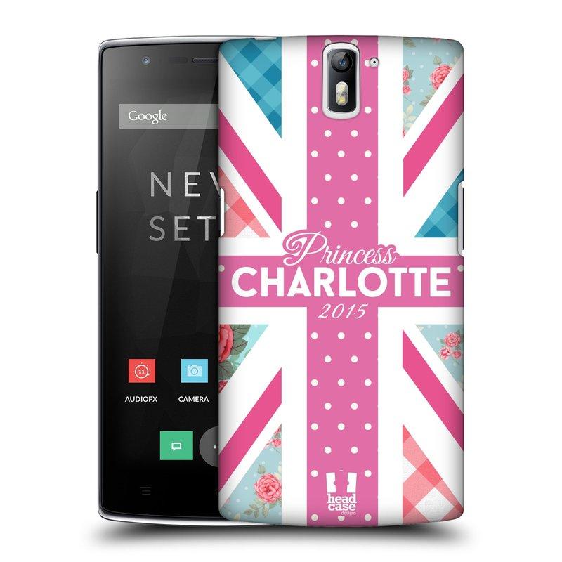Plastové pouzdro na mobil OnePlus One HEAD CASE PRINCEZNIČKA CHARLOTTE (Kryt či obal na mobilní telefon OnePlus One)