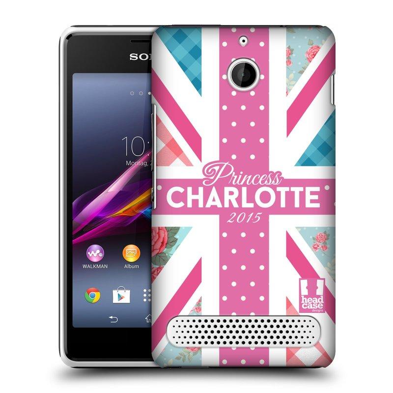 Plastové pouzdro na mobil Sony Xperia E1 D2005 HEAD CASE PRINCEZNIČKA CHARLOTTE (Kryt či obal na mobilní telefon Sony Xperia E1 a E1 Dual )