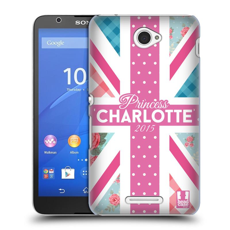 Plastové pouzdro na mobil Sony Xperia E4 E2105 HEAD CASE PRINCEZNIČKA CHARLOTTE (Kryt či obal na mobilní telefon Sony Xperia E4 a E4 Dual SIM)