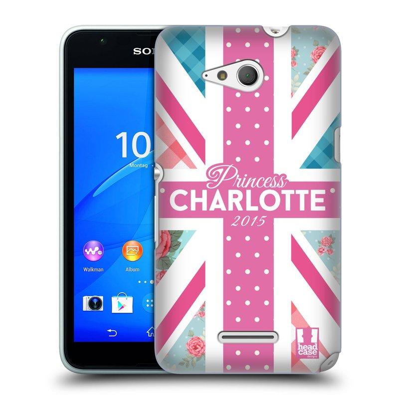 Plastové pouzdro na mobil Sony Xperia E4g E2003 HEAD CASE PRINCEZNIČKA CHARLOTTE (Kryt či obal na mobilní telefon Sony Xperia E4g a E4g Dual SIM)