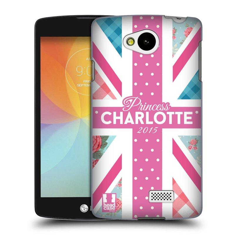 Plastové pouzdro na mobil LG F60 HEAD CASE PRINCEZNIČKA CHARLOTTE (Kryt či obal na mobilní telefon LG F60 D390n)