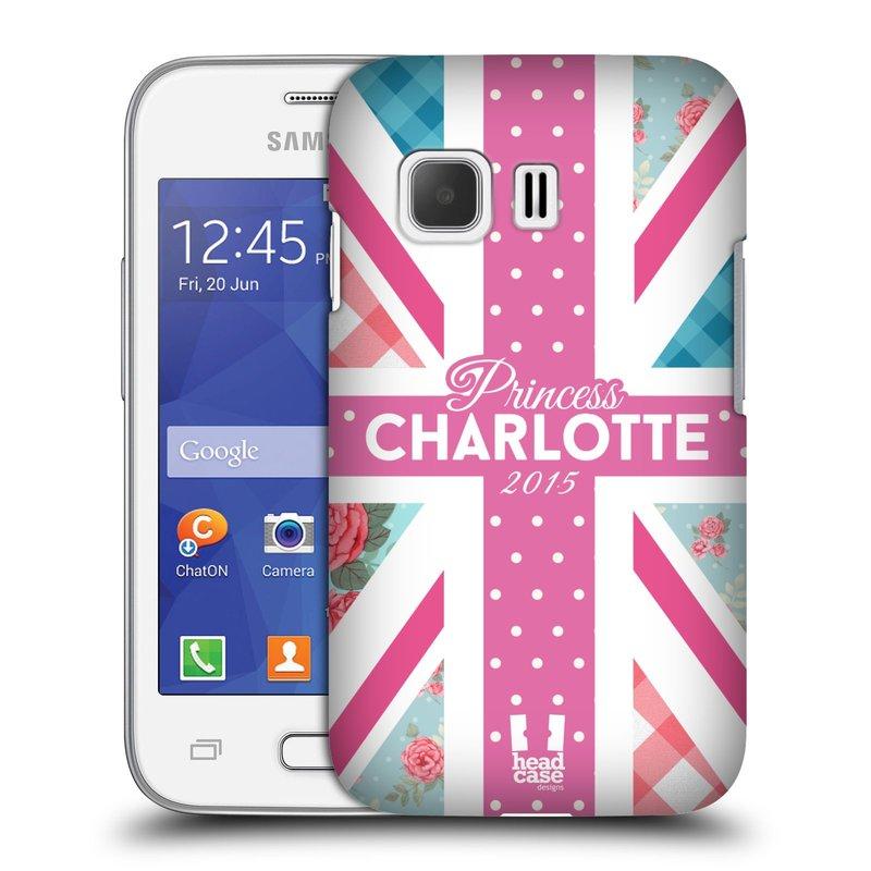 Plastové pouzdro na mobil Samsung Galaxy Young 2 HEAD CASE PRINCEZNIČKA CHARLOTTE (Kryt či obal na mobilní telefon Samsung Galaxy Young 2 SM-G130)